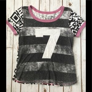Little girls graphic tee size 14